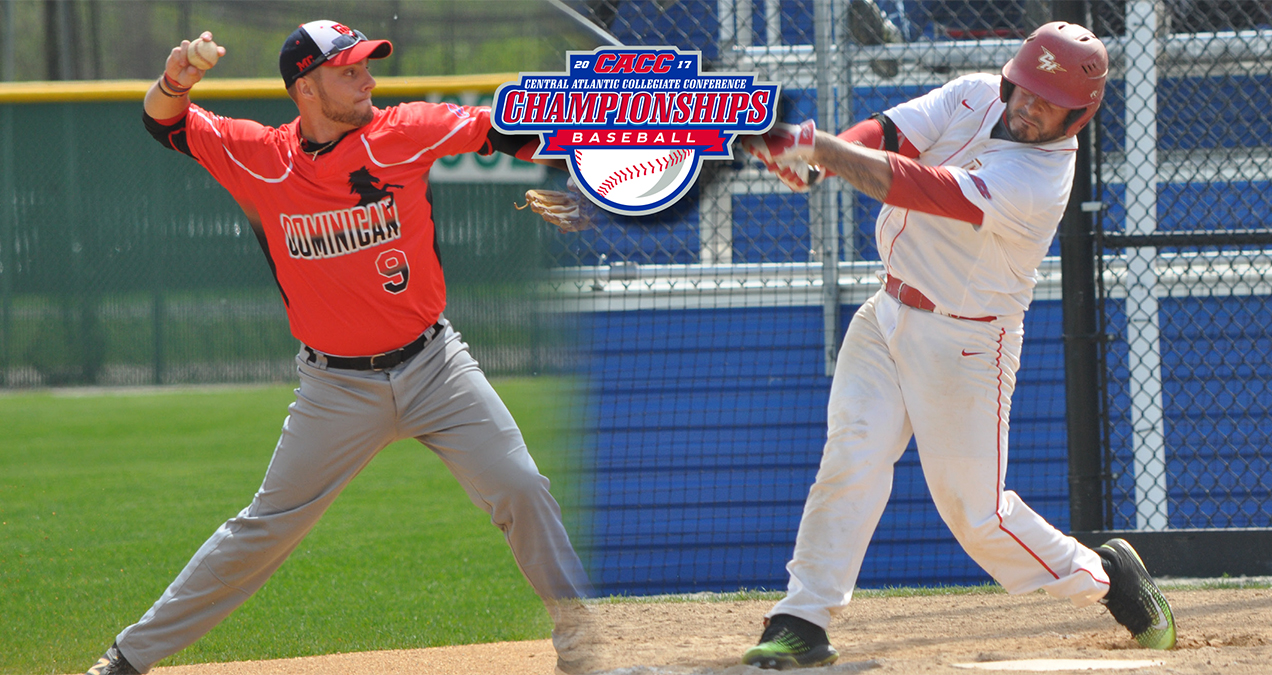 Dominican & Chestnut Hill Advance to Winners Bracket on Thursday at CACC Baseball Championship
