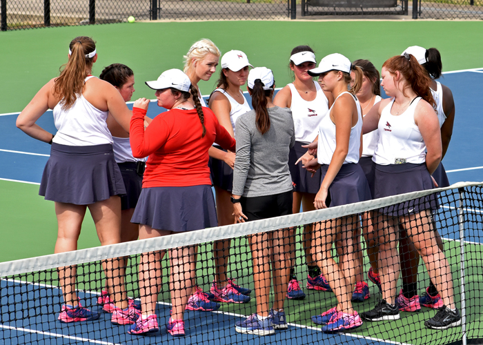 Women's tennis ends season with loss to Averett in USA South Tournament