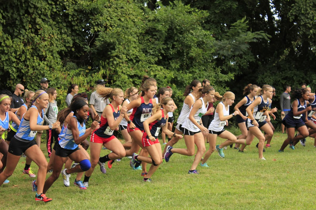Women's Cross Country opened season at Wilmington University Invitational