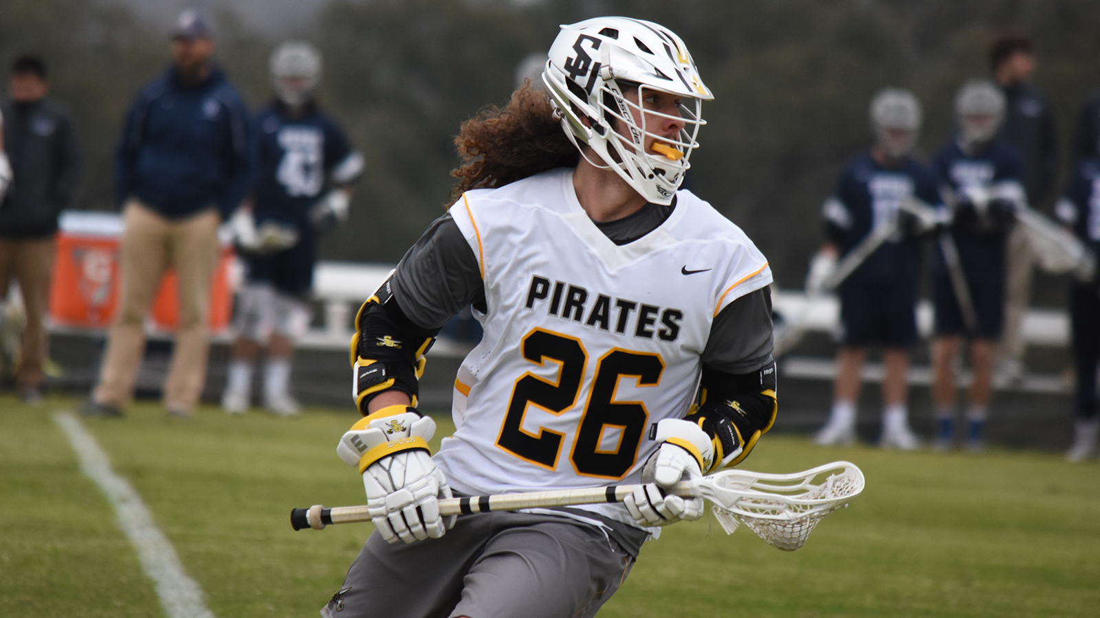 Men's Lax Closes Season with Loss to Rhodes