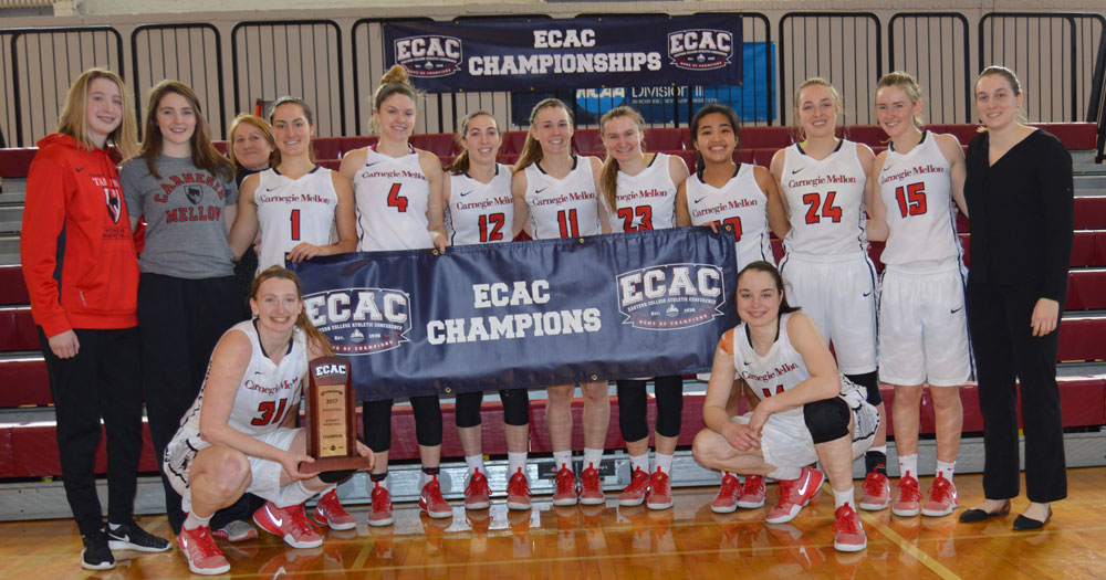 Tartans Complete Season with 80-69 Win for ECAC Championship Title