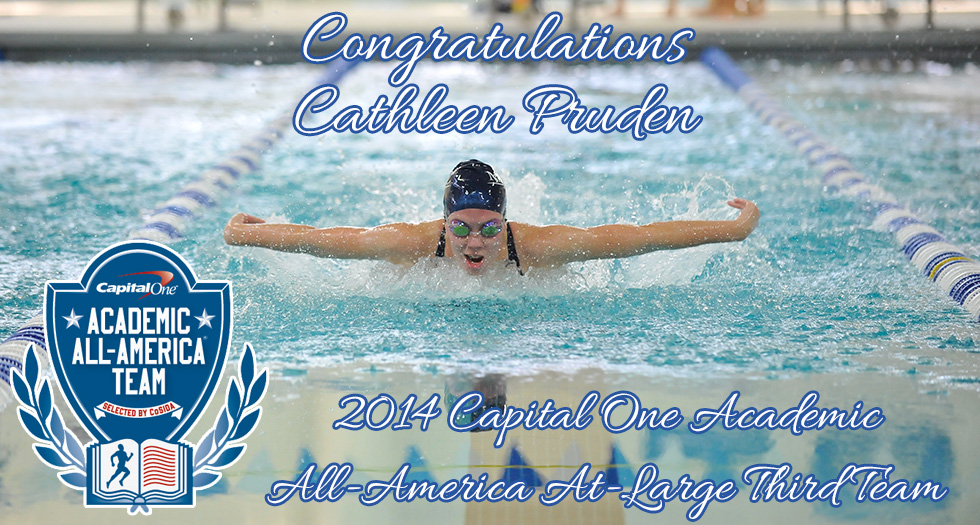 Pruden Named an Academic All-American