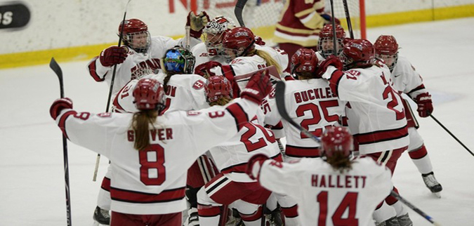 Harvard punches ticket to Beanpot title game in win over No. 7 Boston College