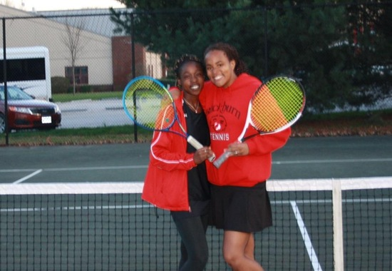 Blackburn Tennis falls to Greenville on Senior Night