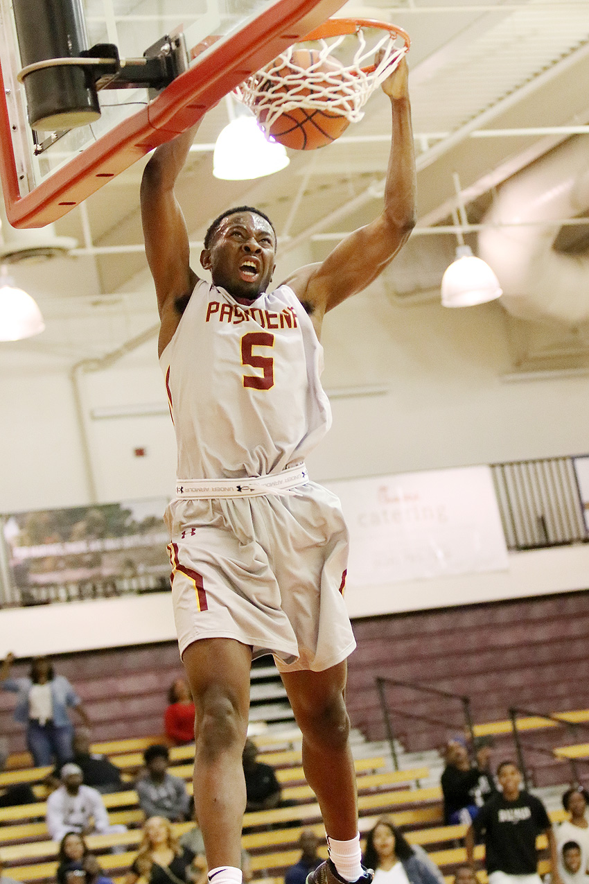 Chris Odionu was one of three Lancers to reach double-doubles in a SCC North-opening win over Rio Hondo.