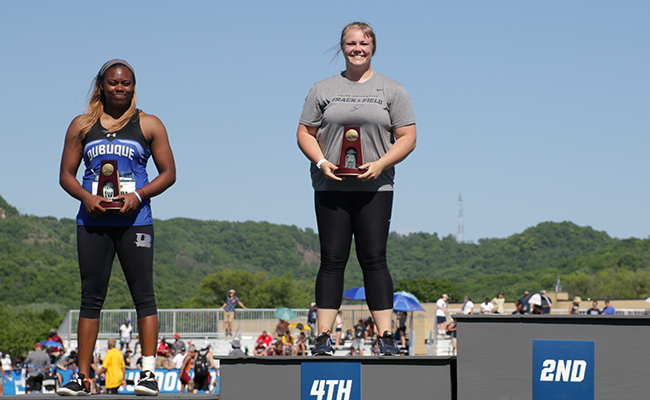 Kara Eck Places Fourth in Hammer at NCAA Outdoor Nationals