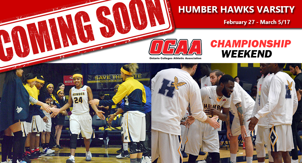HUMBER HAWKS VARSITY – UPCOMING WEEK AT A GLANCE