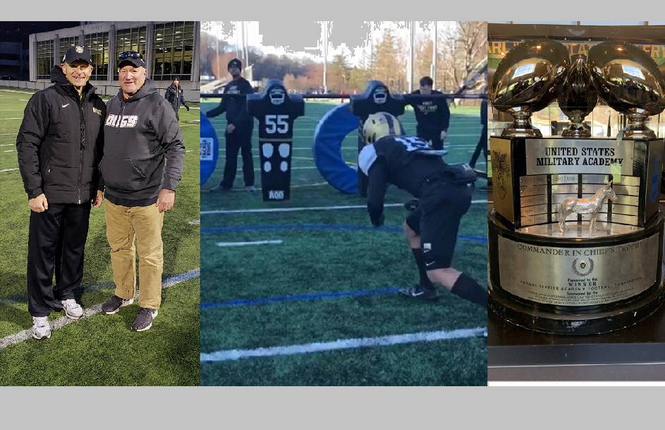 Holmes Football coaching staff visits Army football for staff development