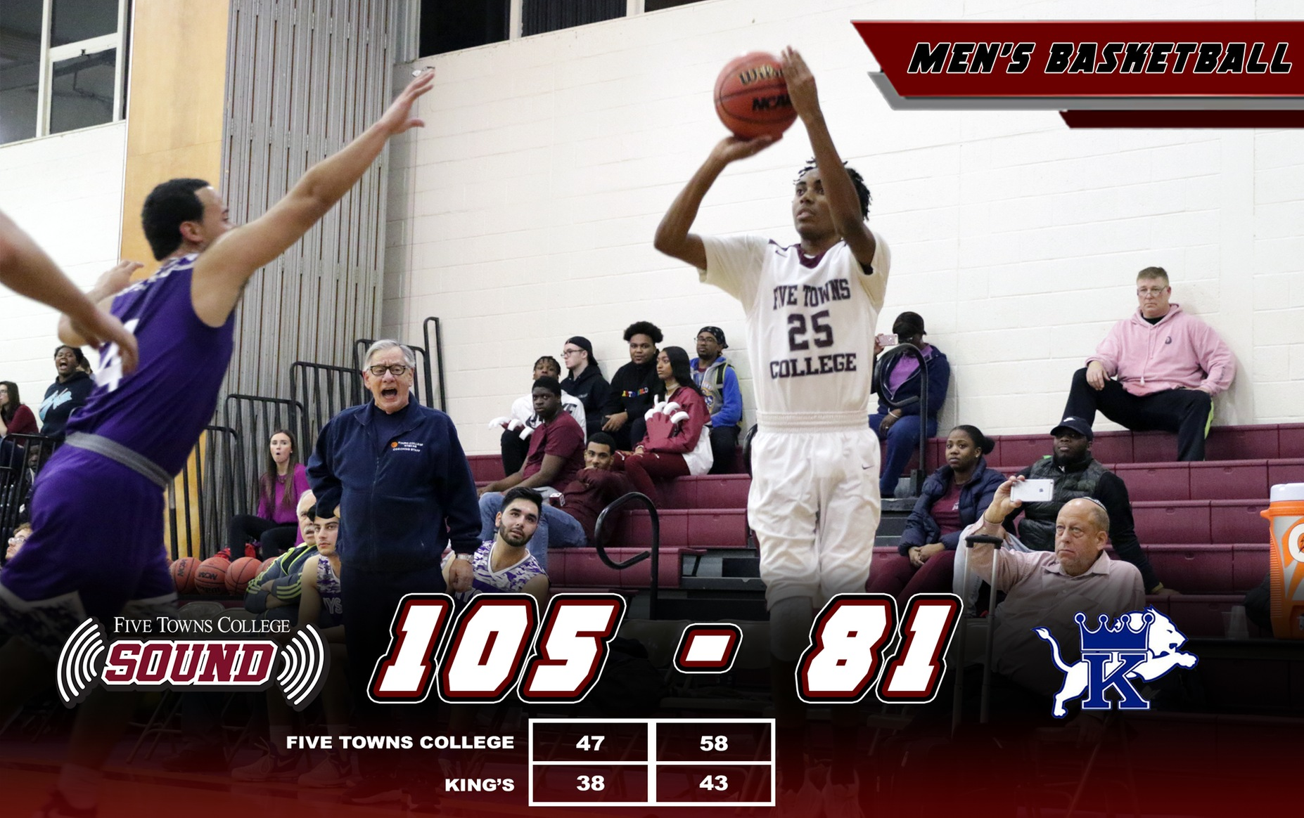 Men's Basketball Improves to 2-0 in Conference Play