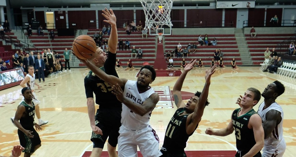 Men's Basketball Edged by Cal Poly in GCI Great Alaska Shootout