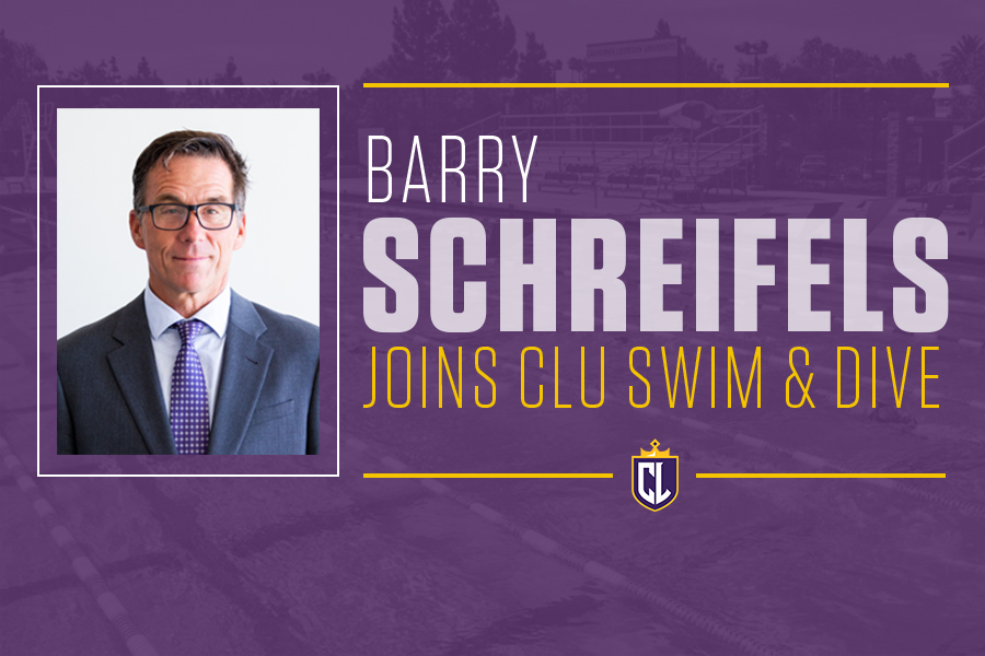 Schreifels Named Swimming and Diving Head Coach