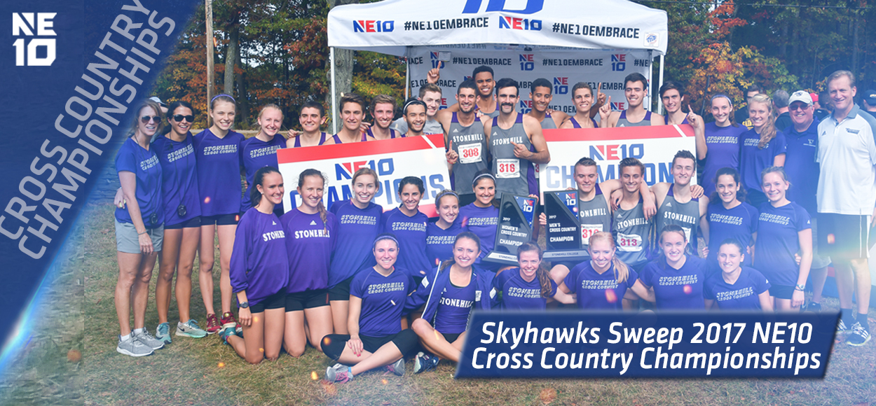 Embrace The Championship: Stonehill Claims Men's and Women's Team Titles at NE10 Cross Country Championships
