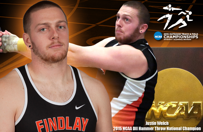 Welch Wins National Title, Oilers in 1st at Nationals