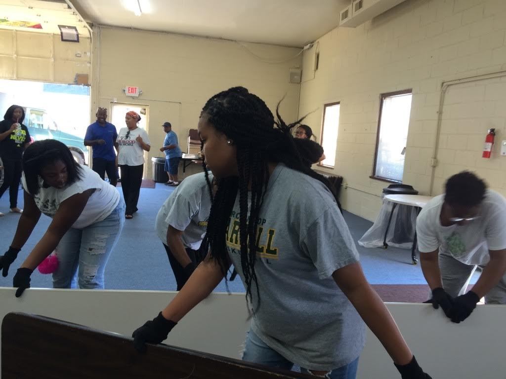 Lady Lions Basketball Team helps Shiloh Abundant Life