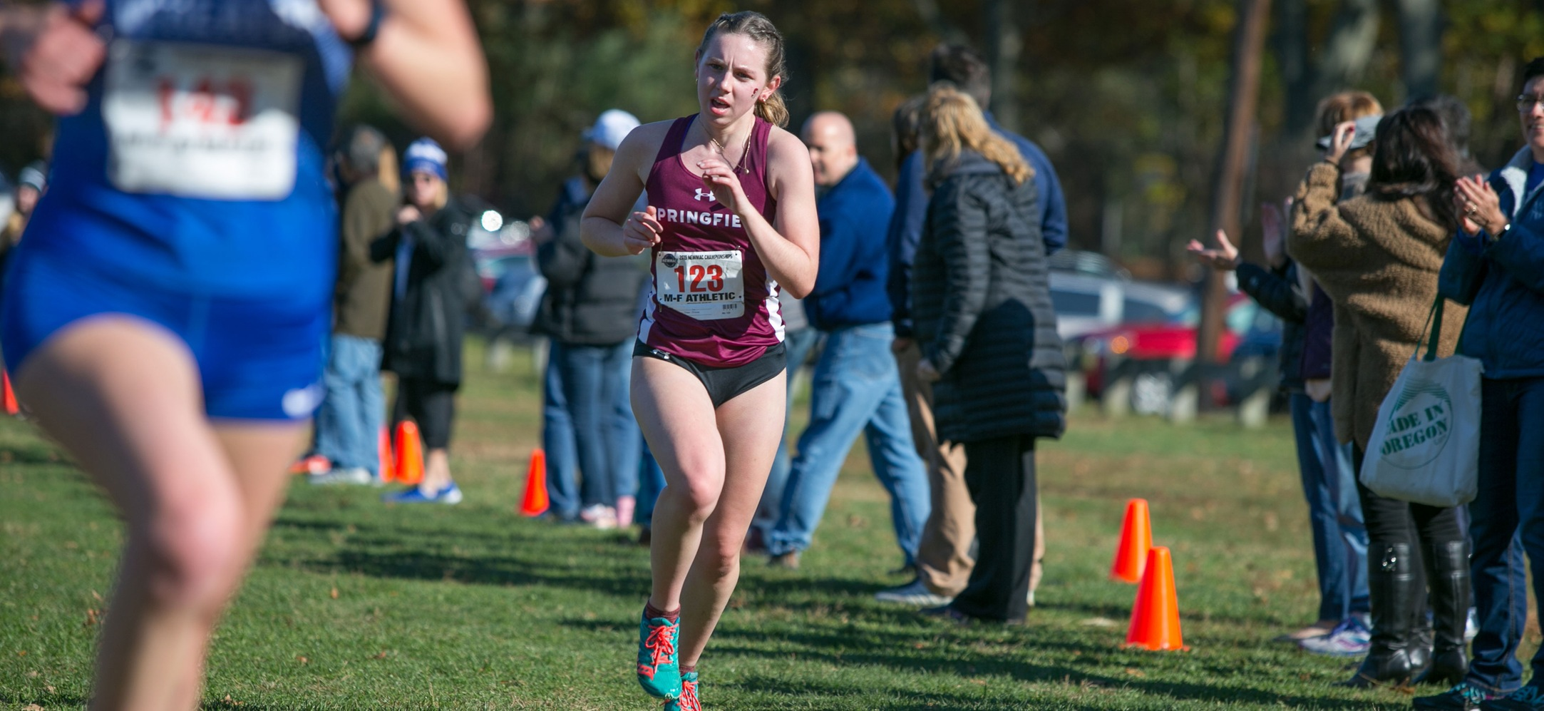 Women's Cross Country Races at NEWMAC Championships