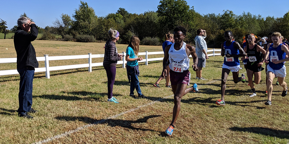 Evangel Cross Country Battles Top Teams at Heart Championships