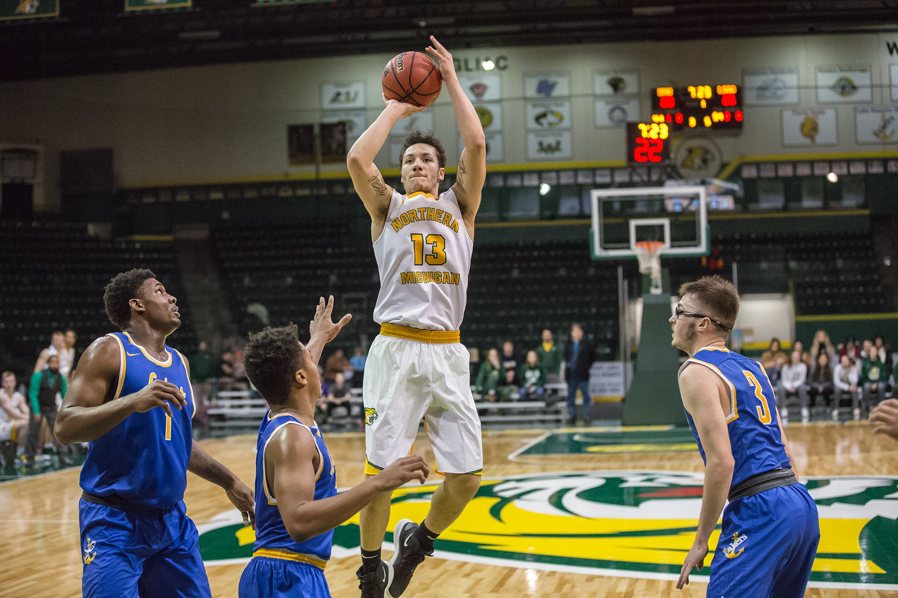 Wildcats Drop GLIAC Contest with LSSU