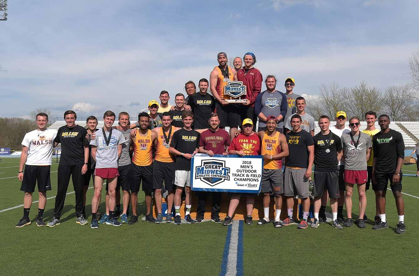 Cavs Claim G-MAC Championship, Myers Named Athlete of the Meet