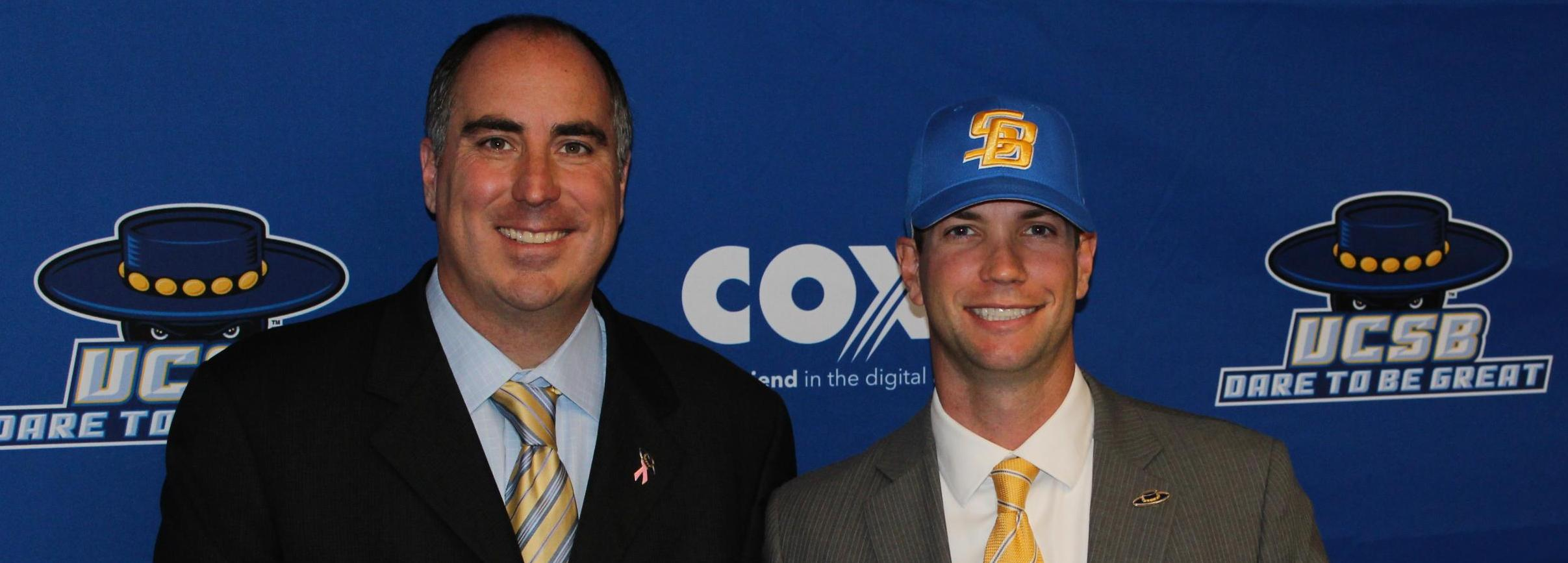 UCSB Hires Checketts as New Baseball Coach