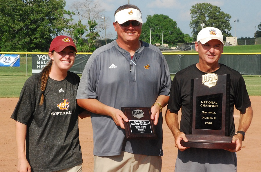 JCJC coaches named NFCA NJCAA DII Coaching Staff of the Year