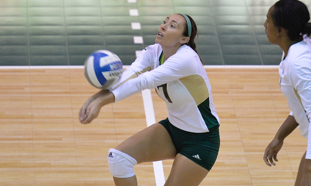 WINNERS OF THREE STRAIGHT, VOLLEYBALL BACK ON THE ROAD FOR A PAIR THIS WEEK