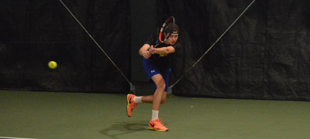 Men's Tennis Opens Home Schedule With 6-0 Victory Over St. Francis Brooklyn