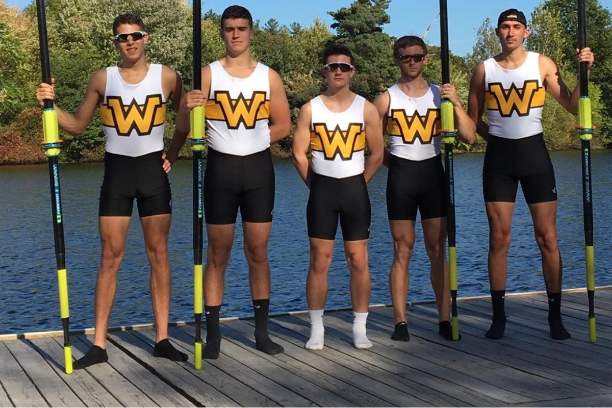 Rowing Competes at the Head of the Charles Regatta