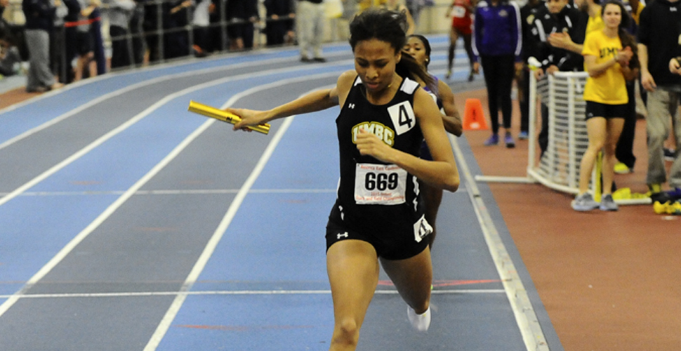Success Continues as Record Fall for UMBC Track and Field at NYU Team Challenge