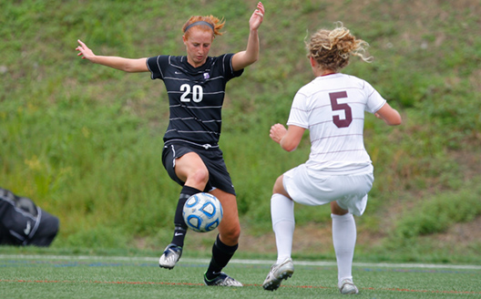 Junior midfielder Sydney Parker had two shots in Scranton's 1-0 overtime loss to Ohio Northern on Saturday in an NCAA Tournament first-round match.