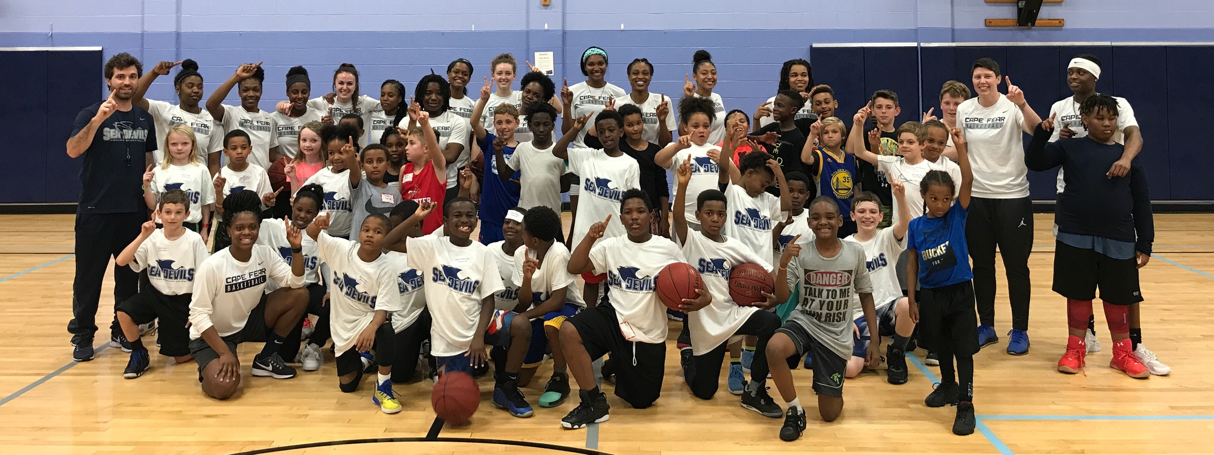 Lady Sea Devils Host Youth Basketball Clinic