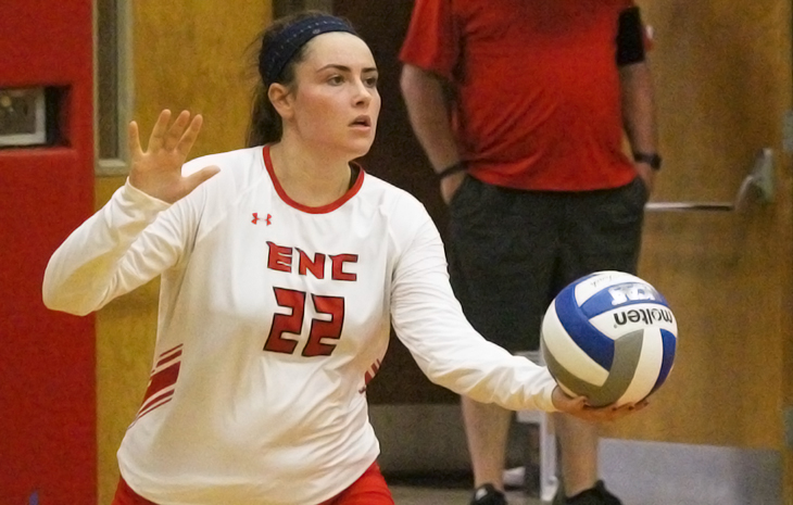 Women's Volleyball Tops Emmanuel 3-1 in Home-Opener