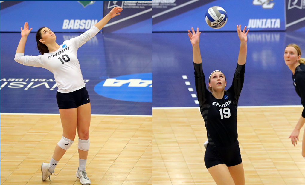 Arles & Thompson Earn UAA Volleyball Honors