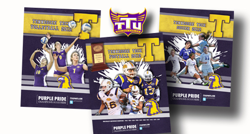 Golden Eagle football, volleyball and soccer digital guides available online and for download