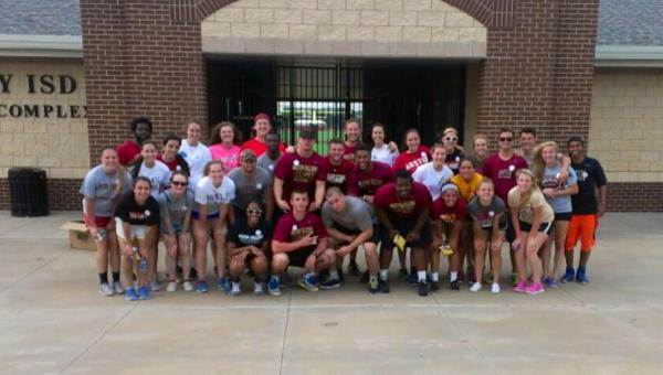 'Roo Student-Athletes Volunteer with Special Olympics