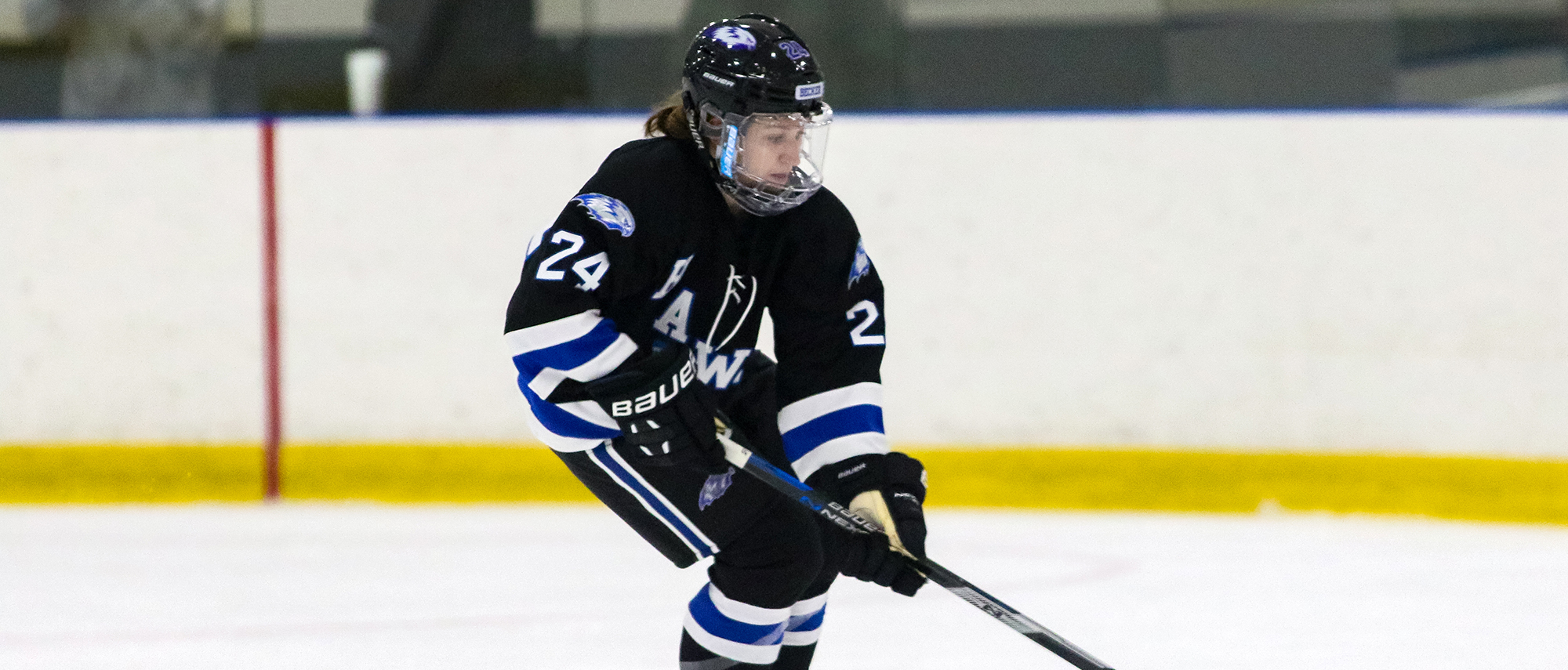 Olivia Dupree, women's ice hockey at Franklin Pierce