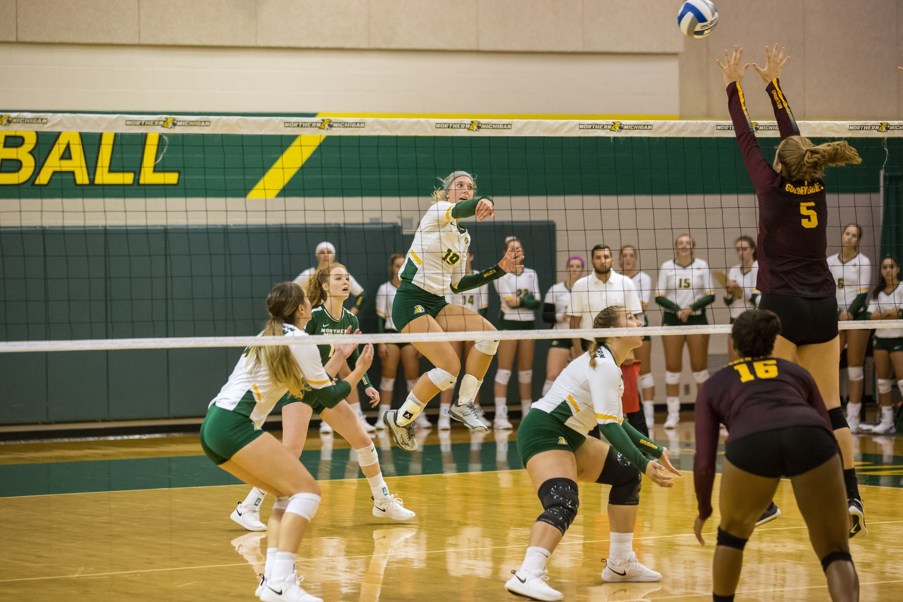 Volleyball Claims 3-1 Victory Over Northwood