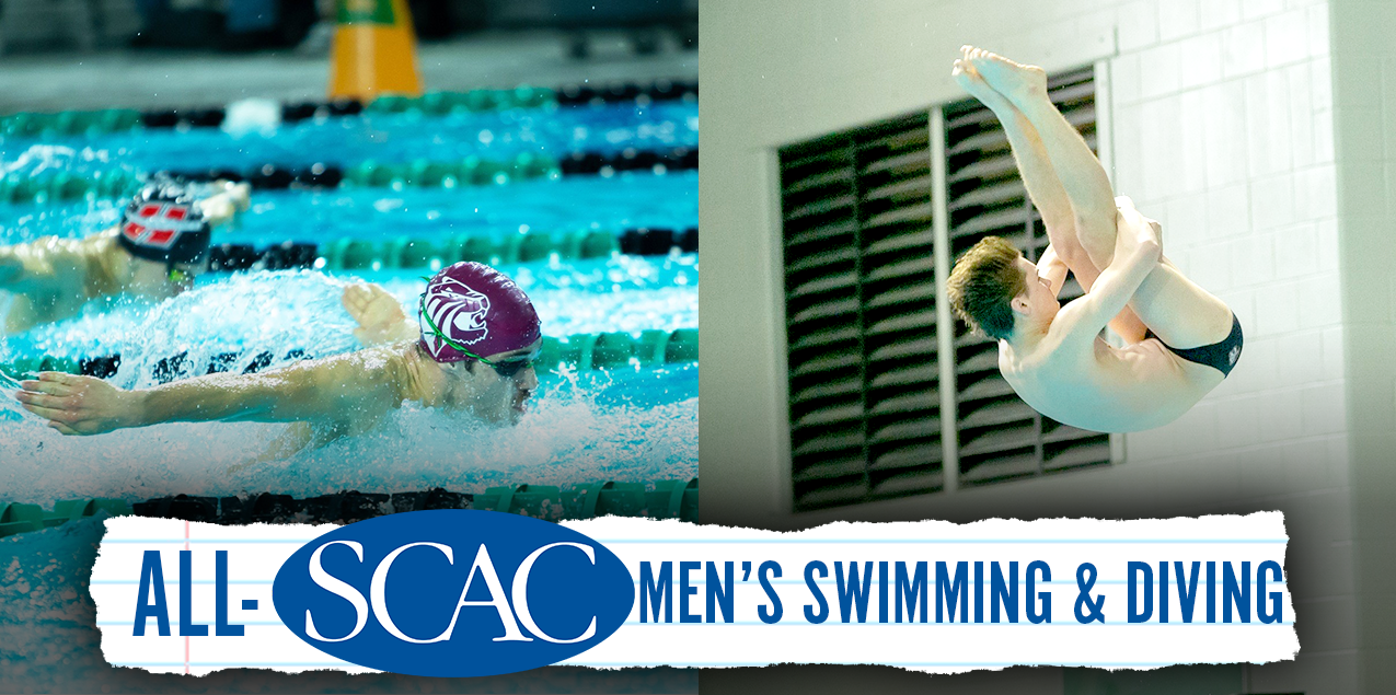 Trinity's Tipton, Valmassei Earn SCAC Male Swimmer and Diver of the Year Honors