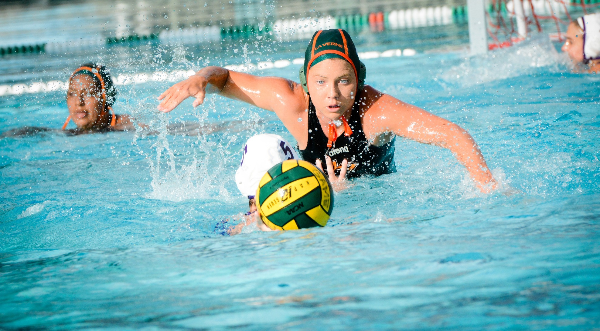 Women's Water Polo tops Chapman 14-10