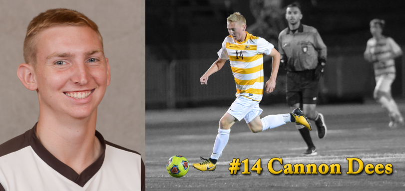 Sophomore forward Cannon Dees