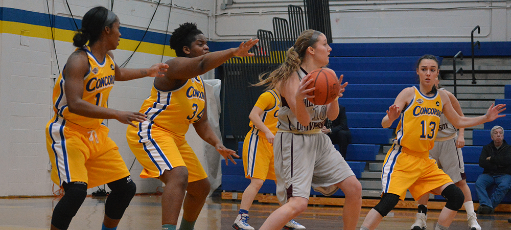 Clippers Women's Basketball Defeats Philadelphia University, 83-69, in a CACC Showdown