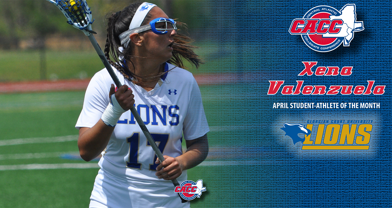 Georgian Court's Xena Valenzuela Named CACC Student-Athlete of the Month for April