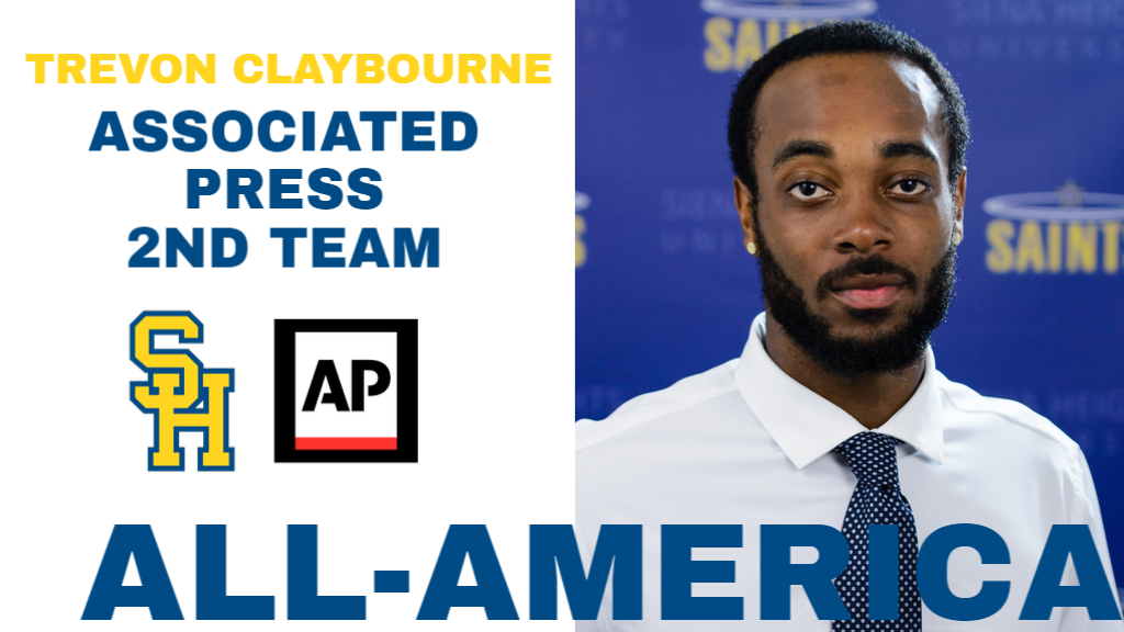 Trevon Claybourne Adds Associated Press All-America Award to Career Resume
