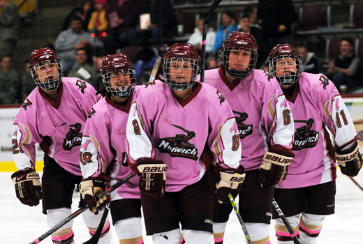 Women's Hockey: Pink Game scheduled for Jan. 28 vs. New England College