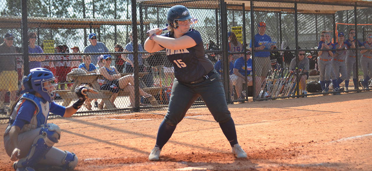 Jordan Wahrenberger was 1-for-3 with two runs batted in against Oneonta State.