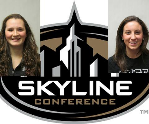 Sage's Carr and Dodge recognized by Skyline Conference