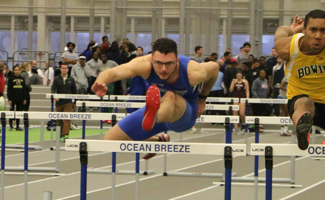 Six School Records Fall For Men's Track and Field