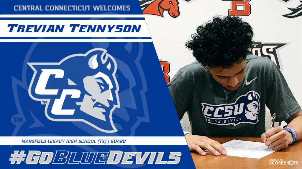 Trevian Tennyson Commits to CCSU Men's Basketball