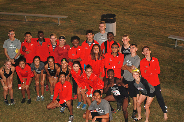 Allen harriers compete well against NCAA D1 competition