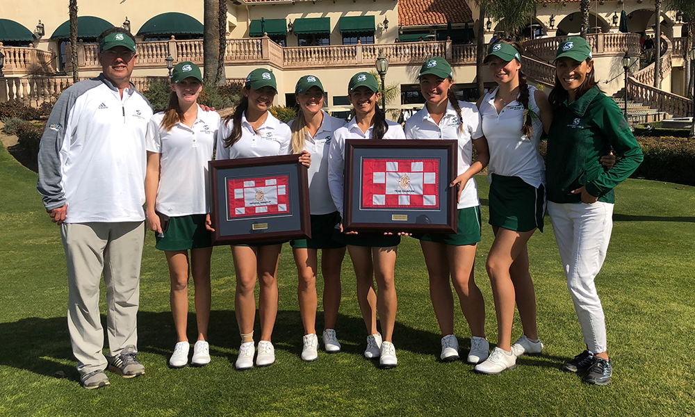 WOMEN'S GOLF RUNS AWAY WITH TEAM TITLE AT FRESNO STATE CLASSIC