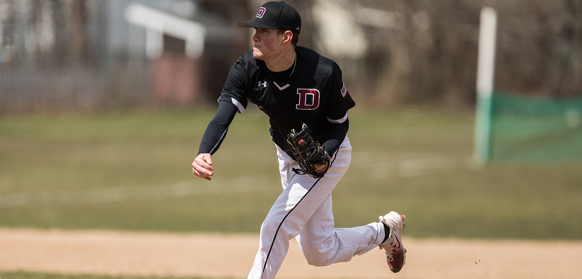 Baseball Gets A Doubleheader Split With Albertus Magnus